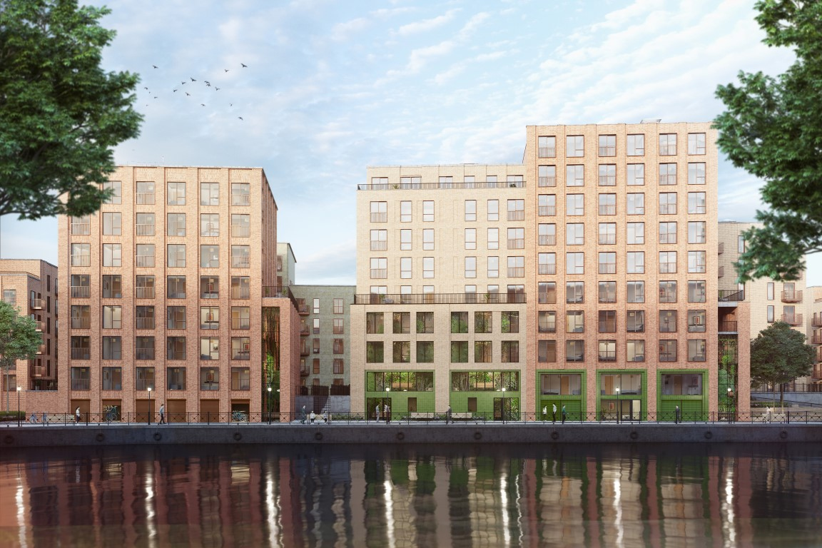 Construction Begins at Salford's Bridgewater Wharf - North Property